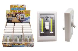 18 Units of COB LED PLUG-IN LIGHT SWITCH ULTRA BRIGHT - Lamps and Lanterns