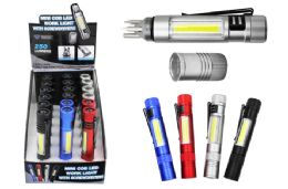 18 Units of COB LED POCKET LIGHT WITH SCREWDRIVERS ULTRA BRIGHT - Flash Lights