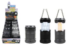 8 Units of COB LED POP UP FLICKERING FLAME LANTERN ULTRA BRIGHT - Lamps and Lanterns
