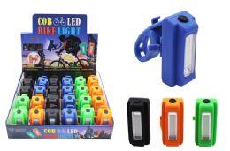24 Units of COB LED RECTANGULAR BIKE LIGHT ULTRA BRIGHT - Lamps and Lanterns