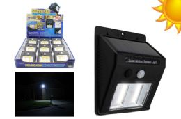 9 Units of COB LED SOLAR POWERED MOTION ACTIVATED LIGHT ULTRA BRIGHT - Lamps and Lanterns