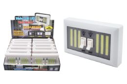 12 Units of COB LED TRIPLE LIGHT SWITCH ULTRA BRIGHT - Lamps and Lanterns