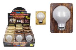 18 Units of COB LED WOOD GRAIN BULB LIGHT SWITCH ULTRA BRIGHT - Lightbulbs