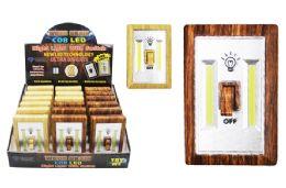 18 Units of COB LED WOOD GRAIN LIGHT SWITCH ULTRA BRIGHT - Lamps and Lanterns