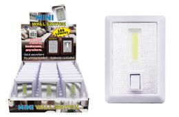 24 Units of MINI COB LED LIGHT SWITCH ULTRA BRIGHT - Lamps and Lanterns