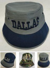 24 Units of Bucket Hat [DALLAS] - Bucket Hats