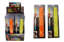 16 Units of 4 Led Flashing Arm Band - LED Party Supplies