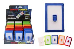 18 Units of 6 LED LIGHT SWITCH - Lamps and Lanterns