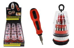 18 Units of Mini Screwdriver Set - Screwdrivers and Sets
