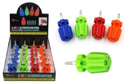 20 Units of 6 In 1 Compact Screwdriver - Screwdrivers and Sets