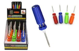 20 Units of 7 In 1 Long Screwdriver - Screwdrivers and Sets