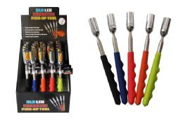 25 Units of Extendable Led Magnetic PicK-Up Tool - Screwdrivers and Sets