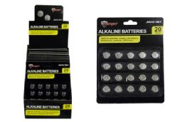 48 Units of Alkaline Button Cell Batteries - Batteries