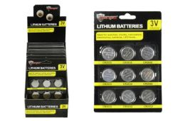 24 Units of CR2032 BUTTON CELL BATTERIES - Batteries