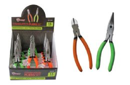 15 Units of DIAGONAL/LONG NOSE PLIERS - Pliers