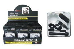 24 Units of Eyeglass Repair Kit - Eyeglass & Sunglass Cases