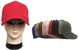 120 Units of Assorted Baseball Caps - Baseball Caps & Snap Backs