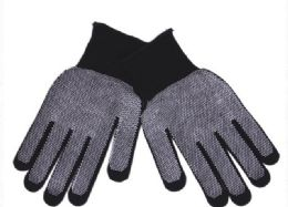 144 Units of Unisex Glove With Grippers - Winter Gloves