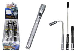 18 Units of MINI EXTENDABLE MAGNETIC LED FLASHLIGHT - Flash Lights
