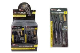 32 Units of Mini Wire Brush Set - Hardware Products