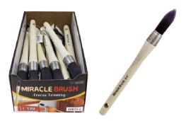 24 Units of MIRACLE TAPERED TRIM PAINTBRUSH - Paint and Supplies