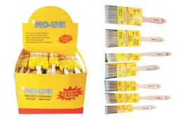 72 Units of PAINTBRUSH ASSORTMENT - Paint and Supplies