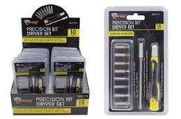 54 Units of PRECISION BIT DRIVER SET - Drills and Bits