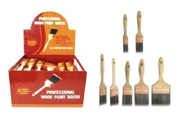 48 Units of PREMIUM PAINTBRUSH ASSORTMENT - Paint and Supplies