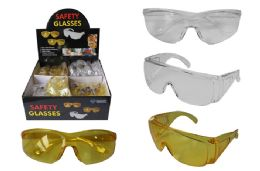 72 Units of PROMO SAFETY GLASSES - Hardware Miscellaneous