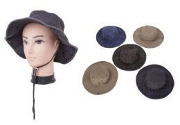 72 Units of Men's Assorted Fishing Hat - Fedoras, Driver Caps & Visor