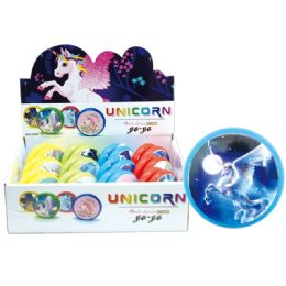 60 Units of YO-Yo Unicorn Print - Toys & Games