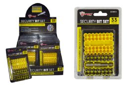 24 Units of Security Bit Set - Drills and Bits