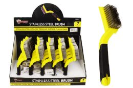 40 Units of Stainless Steel Brush - Hardware Products