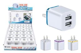 24 Units of DUAL USB WALL CHARGER - Chargers & Adapters