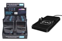 12 Units of WIRELESS CHARGING PAD FOR CARS - Chargers & Adapters