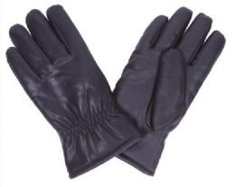 48 Units of Men's Leather Glove - Leather Gloves