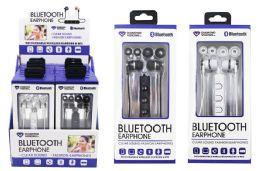 12 Units of BLUETOOTH WIRELESS EARBUD HEADPHONES - Headphones and Earbuds