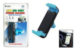 24 Units of CAR AIR VENT PHONE HOLDER CARDED - Cell Phone Accessories