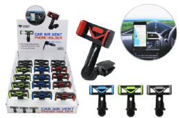 15 Units of CAR AIR VENT PHONE HOLDER WITH BALL JOINT AND EXTENDED ARM - Cell Phone Accessories