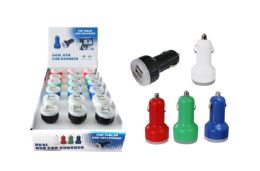 18 Units of DUAL USB CAR CHARGER - Chargers & Adapters