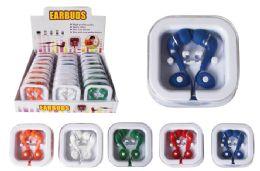 24 Units of EARBUD HEADPHONES - Headphones and Earbuds