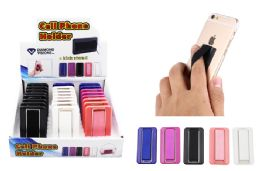 48 Units of ELASTIC CELL PHONE GRIP WITH KICK STAND - Cell Phone Accessories