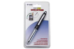 24 Units of Pen With Stylus And Led Carded - Cell Phone Accessories