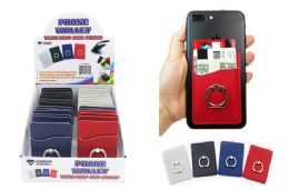 30 Units of Phone Wallet With Grip And Stand - Cell Phone Accessories