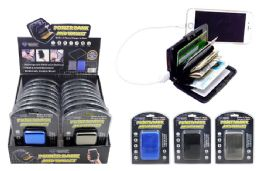 16 Units of PORTABLE CHARGER WITH CARD WALLET - Chargers & Adapters
