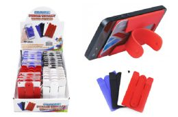 60 Units of Silicone Phone Wallet With Stand - Cell Phone Accessories