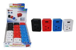 18 Units of WALL USB CHARGER WITH OUTLET PLUG - Chargers & Adapters