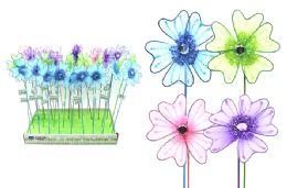 144 Units of Flower Garden Pick - Garden Decor