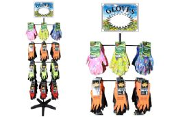 344 Units of Garden Glove Rack - Working Gloves