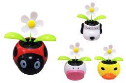 128 Units of Animal Head Sunny Jigglers - Summer Toys